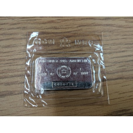 Vintage RCM 1 Oz Silver Bar...