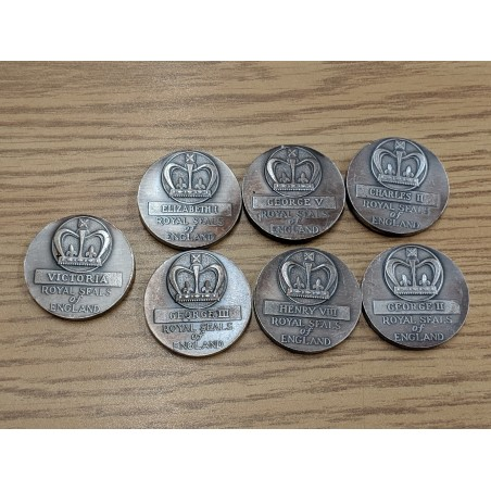 Lot of 7 Silver coin 999...